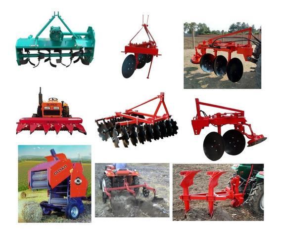 Implementos Agricolas Arado Rastra Empacadora Rotavo