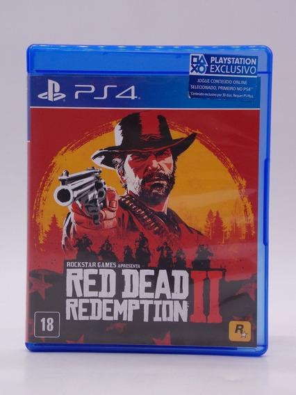 Red Dead Redemption 2 Play Station 4 Original Mídia Física