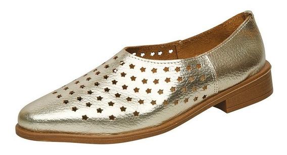 Zapato Calado Dama Cuero Aer03