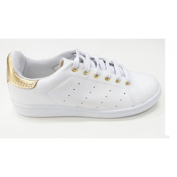 Tenis Star Tech St0585 - Dourado - Delabela Calçados
