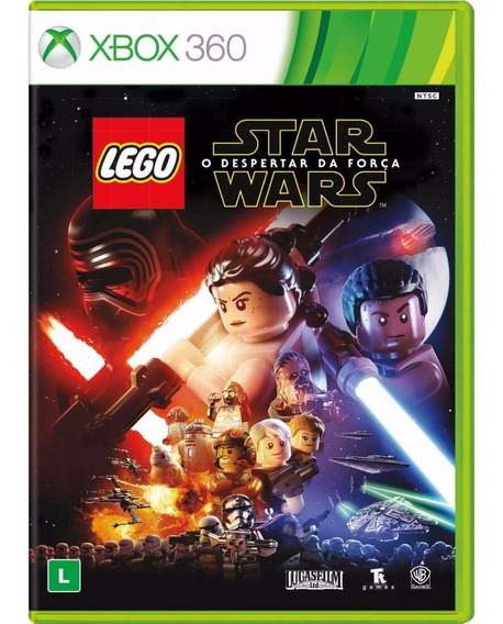 Jogo Dvd Lego Star Wars The Force Awakens Xbox 360 Português