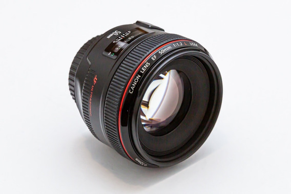 Lente Canon 50mm 1.2 - Ótimo Estado.