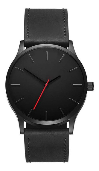 Reloj De Hombre Moderno Casual Elegante 2019 Negro Mayoreo