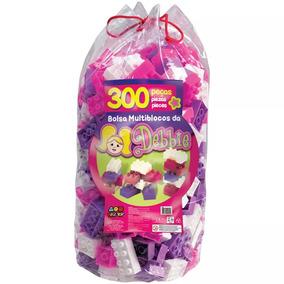 Bolsa Multiblocos Da Debbie 300 Peças - Bell Toy