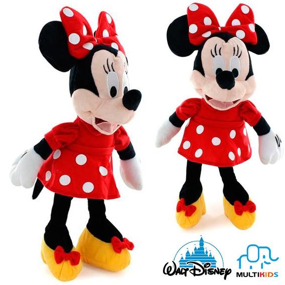 Pelúcia Da Minnie Mouse Antialergico Musical 33 Cm Disney