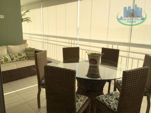 Apartamento Com 2 Dormitórios À Venda, 95 M² Por R$ 789.000 - Cidade Maia - Guarulhos/sp - Ap0914