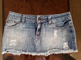 982d962a8 Faldas De Vaquero Jeans - Ropa y Accesorios Celeste en Mercado Libre ...
