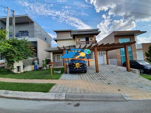 Imagem 1 de 15 de Linda Casa A Venda No Condomínio Terras De Atibaia - 877
