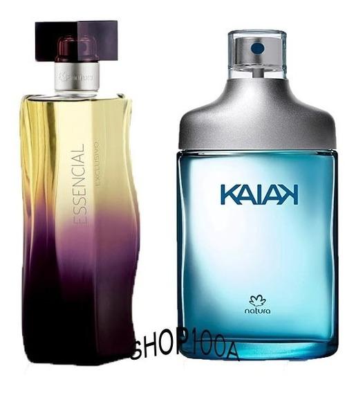 Deo Parfum Essencial Exclusivo Feminino + Kaiak Masculino