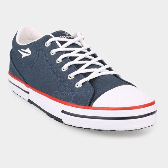 Zapatillas Topper Nova Low Lona Azul 2019/2020