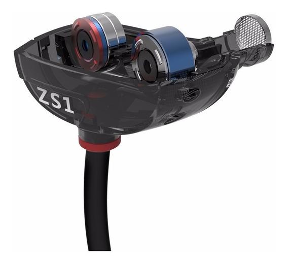 Fone In Ear Kz Zs1 Dual Drive