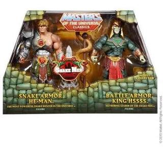 Motu Classics Battle Armor King Hsss Snake Armor 200x Heman*