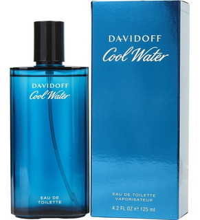 Perfume Davidoff Cool Water Original 125ml Edt Para Hombre