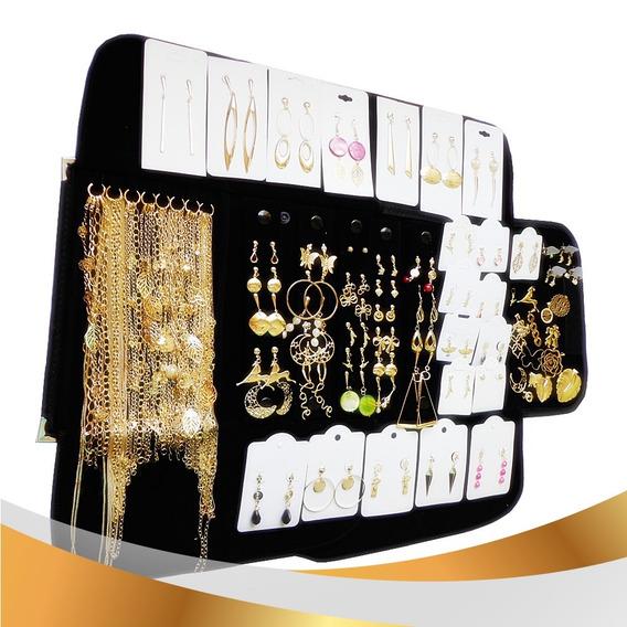 Folheado Prata Ouro Kit 58 Pçs Mostruario Pulseira Masculina