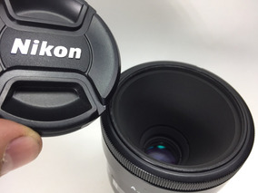Lente Nikon Af 55mm 2.8 Macro Micro Similar À Af 60mm Macro