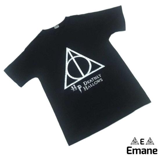 Camiseta Harry Potter Reliquias Da Morte