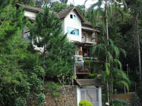 Casa Em Condomínio Fechado, Serra Da Cantareira, Construção Moderna É Uma Residência Ampla E Confort - 169-im181749