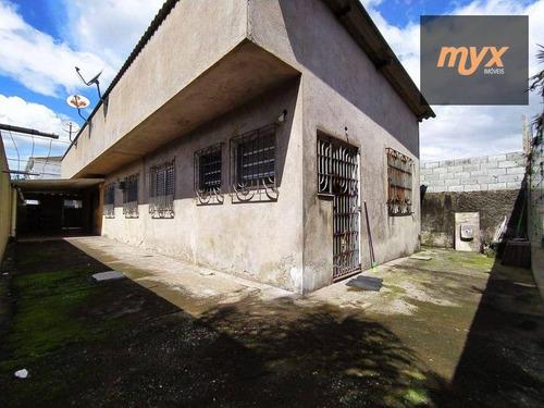 Oportunidade: Casa De Esquina, Isolada, Com 3 Dormitórios Em Santos - Sp - Ca0916