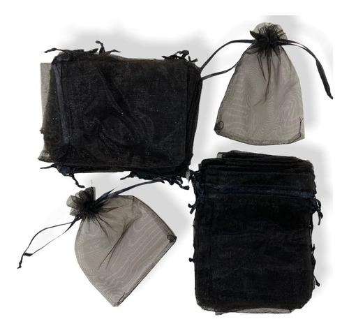 Imagen 1 de 2 de Bolsa De Organza, Bijou, Souvenirs, Sorpresitas. Pack X 100.