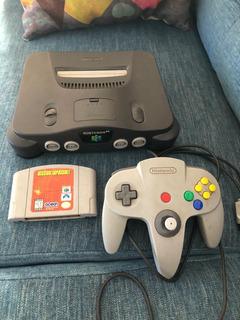 Nintendo 64 - Un Joystick - Juego Misión Imposible