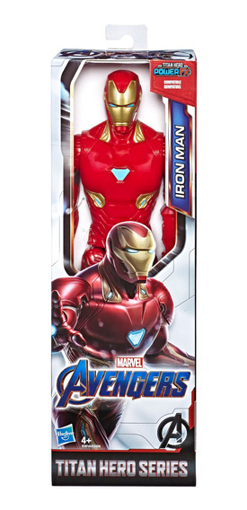 Marvel Avengers: Endgame Titan Hero Series- Figura Iron Man