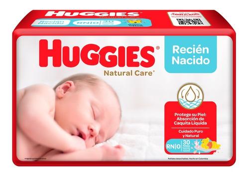 Imagen 1 de 1 de Pañales Huggies Natural Care Etapa - Unidad a $510