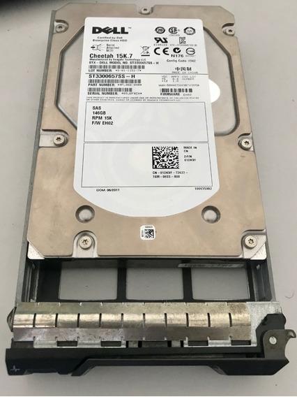 Hd Dell / Cheetah 15k.7 146gb Sas 3g 3,5 C/gaveta
