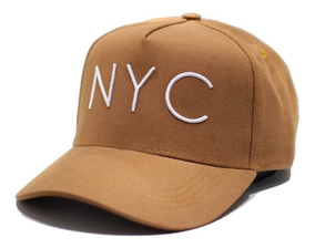 Boné Caramelo Aba Curva Snapback Young Money Original