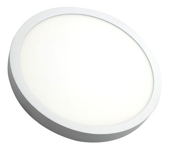 Panel Adosable Circular Led 24w6k 24w 2400 Lumenes 6000k