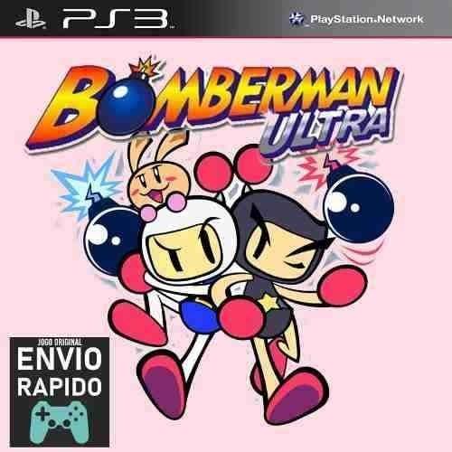 Bomberman Ultra - Jogos Ps3 Original