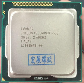 Processador Lga 1155 Celeron G550 Novo Sem Caixa