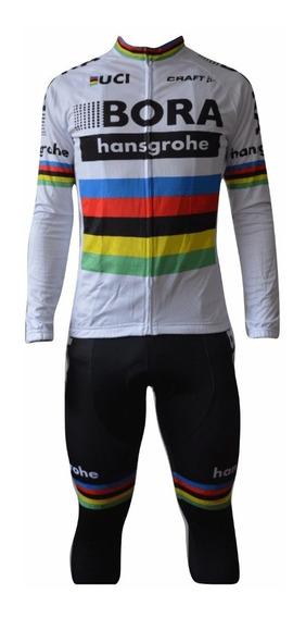 Uniforme Jersey De Ciclismo Bora-hansgrohe Envió Gratis