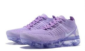 factory authentic 6e90c 8835a Nike Air Vapormax Violeta Bajo Mujer Plomo P t,36 40