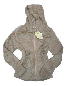Casaco Blusa De Frio Pelúcia Feminina Inverno Lisa Com Capuz