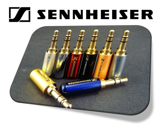 Kit C 10 Plug P2 3 Polos 3,5mm Sennheiser Headphone Id1983