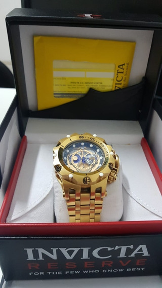 Relógio Invicta Venon Hybrid Dourado - Original