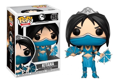 Funko Pop Mortal Combat Kitana Fun-a-21689