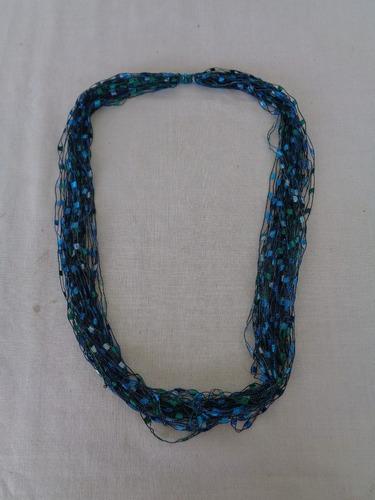 Cordão Tecido Vintage Verde 05*