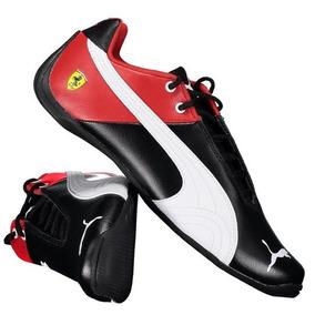 Tênis Ferrari Future Cat Sf - Vermelho/pto/bco