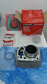 Kit Cilindro Motor Titan 150 Todas Injeção Ham+junta+retento