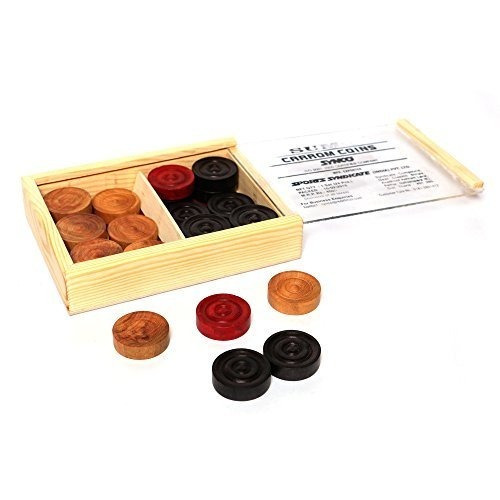 Monedas Synco Carrom Con Caja (monedas De Carmo De Sumo)