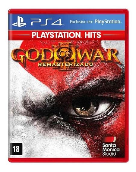 God Of War Iii Remasterizado Ps4 Mídia Física Novo Lacrado