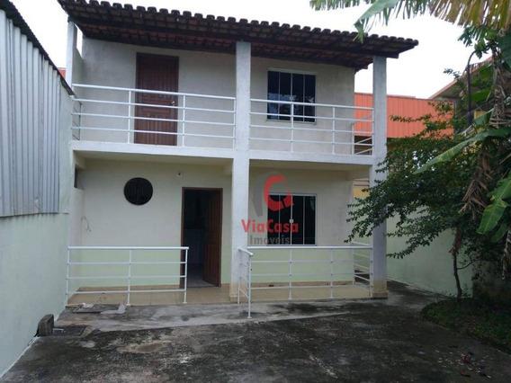 Kitnet Com 1 Dormitório Para Alugar, 50 M² Por R$ 650/mês - Village Rio Das Ostras - Rio Das Ostras/rj - Kn0017