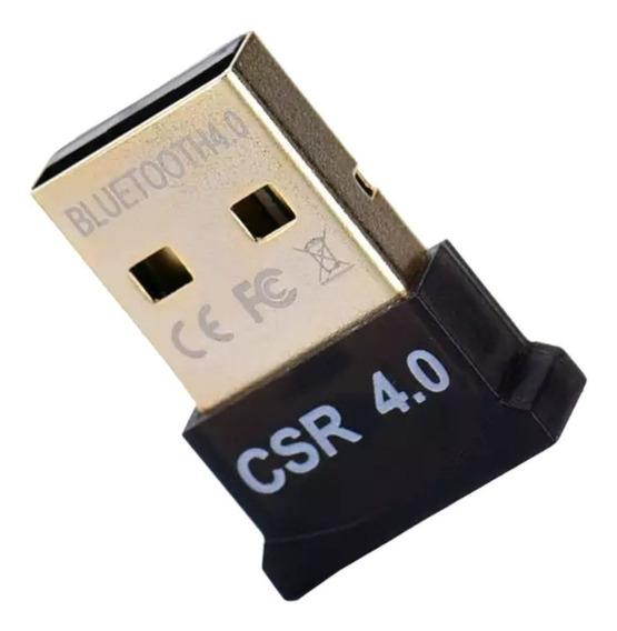 Mini Adaptador Bluetooth Csr 4.0 Dongle Conector Usb Pc