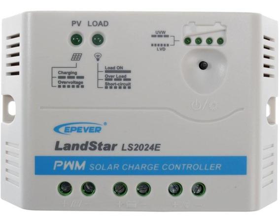 Controlador De Cargas 20a 12/24v Pwm - Ls2024e