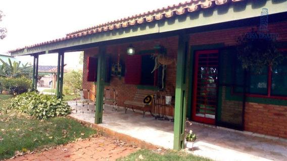 Chácara Com 2 Dormitórios À Venda, 4977 M² Por R$ 2.400.000,00 - Nova Veneza - Paulínia/sp - Ch0084