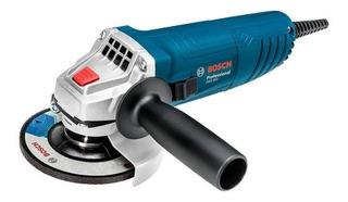 Esmerilhadeira Angular Bosch 850w 110v Gws 850 Azul