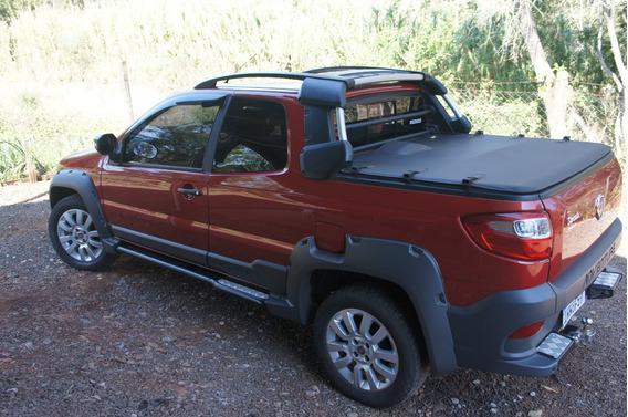 Fiat Strada Adventure 1.8 16v Cab. Dupla Flex - Top De Linha