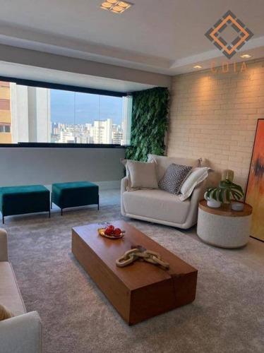 Apartamento Com 4 Dormitórios À Venda, 172 M² Por R$ 2.200.000,00 - Perdizes - São Paulo/sp - Ap33529