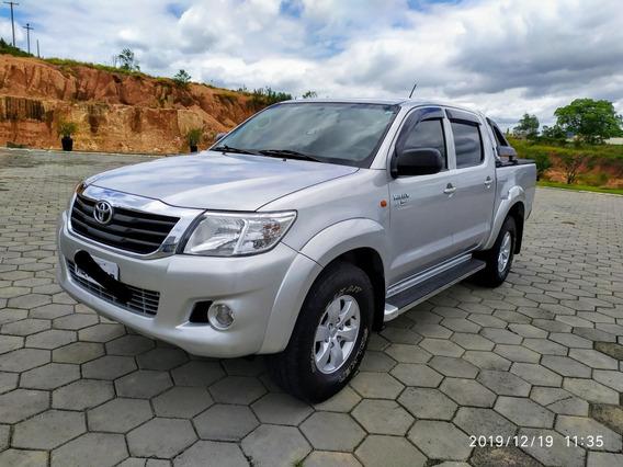 Toyota Hilux 2.7 Sr Cab. Dupla 4x2 Flex Aut. 4p 2013